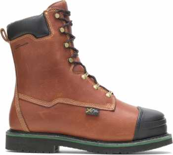 HYTEST 04052 Footrests Massena, Men's, Comp Toe, EH, Internal Met, High Heat, 10 Inch Boot