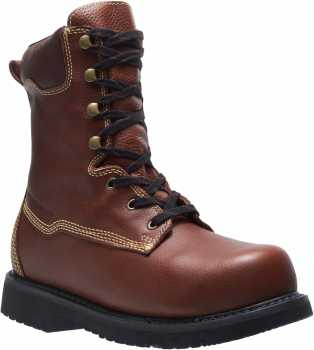HYTEST 04055 Brown Electrical Hazard, Composite Toe, Internal Met-Guard Men's 10 Inch Boot