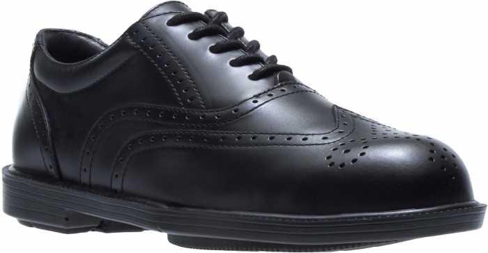Hush Puppies 05040 Professionals, Men's, Black, Steel Toe, EH, Wing Tip Oxford