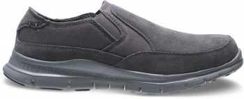 HyTest 10112 Blake, Men's, Grey, Steel Toe, EH, Twin Gore, Casual Slip On