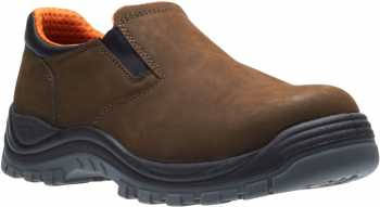 HYTEST 10781 Knox, Unisex, Brown, Steel Toe, EH, Twin Gore Slip On