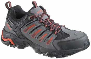 HyTest 11103 Trekker, Men's, Black, Steel Toe, EH, Low Hiker