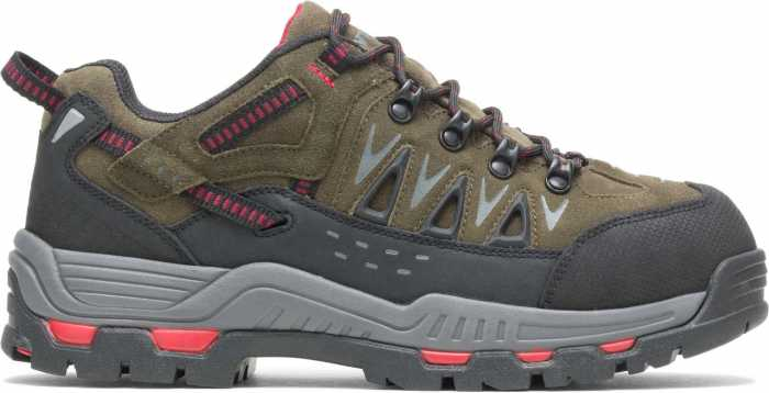HYTEST 11192 Nickel Men's, Steel Toe, EH, Internal Met Guard, Low Hiker