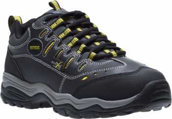HyTest 11200 Black Electrical Hazard, Steel Toe, Poron XRD Internal Met-Guard Men's Athletic