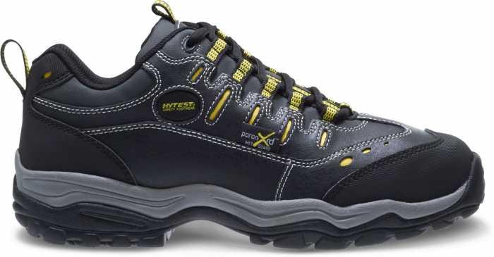 HYTEST 11200 Black Electrical Hazard, Steel Toe, Poron XRD Internal Met-Guard Men's Athletic