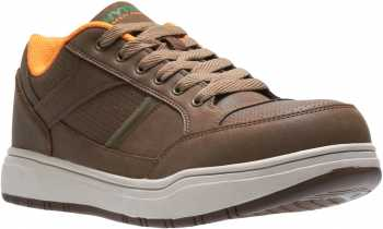 HYTEST 11211 Men's Brown, Steel Toe, EH, Casual Oxford