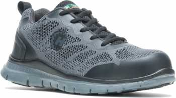 HyTest 11812 Bolt, Men's, Grey, Steel Toe, Low Athletic