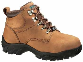 HYTEST 12101 Brown Steel Toe, Internal Met-Guard Unisex Hiker