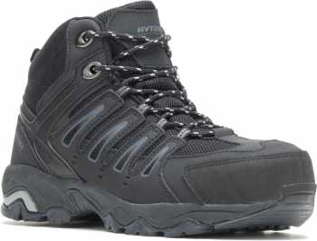 HYTEST 12150 Trekker, Men's, Black, Steel Toe, EH Hiker