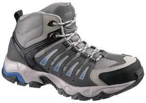 HYTEST 12150 Trekker, Men's, Grey, Steel Toe, EH Hiker