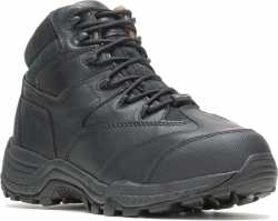 HYTEST Black Mid-Cut Non-Metallic Hiker Unisex