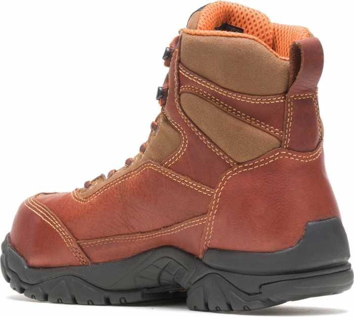 HYTEST 12251 Brown Electrical Hazard, Composite Toe, Poron XRD Internal Met Guard, Waterproof, Non-Metallic Unisex 6 Inch Boot