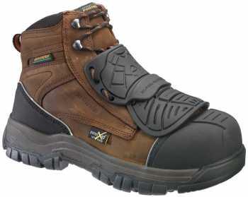 HyTest 13121 Footrests Men's Comp Toe, EH, Met Guard, PR, 6 Inch Boot