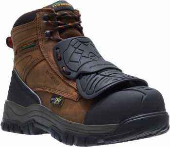 HYTEST 13121 Footrests Men's Comp Toe, EH, Met Guard, PR, 6 Inch Boot