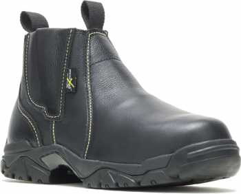 HYTEST 13200 Black Steel Toe, EH, XRD Internal Met Guard, Easy On/Off, Welder's Boot