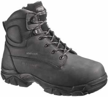 HyTest 13540 Electrical Hazard, Composite Toe, Internal Met Guard Men's 6 Inch Side Zip Boot