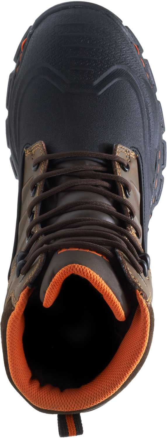 HYTEST 13571 Men's Brown, Comp Toe, EH, Waterproof, Insulated, 6 Inch Boot