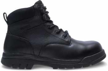 HyTest 13610 Black Electrical Hazard, Composite Toe, Non-Metallic, Waterproof Unisex 6 Inch Boot