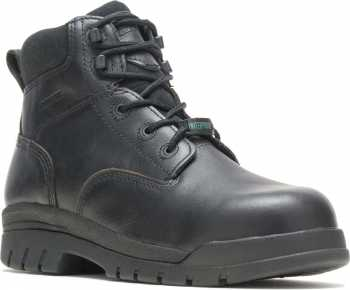 HYTEST 13610 Zinc Black Electrical Hazard, Composite Toe, Non-Metallic, Waterproof Unisex 6 Inch Boot