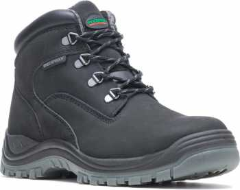 HYTEST 13750 Men's Black, Steel Toe, EH, Waterproof Hiker