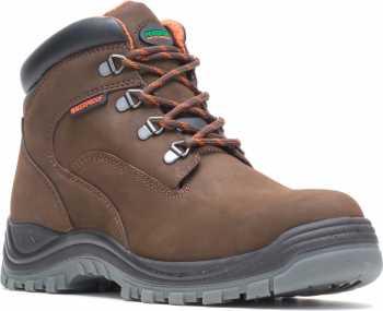 HYTEST 13751 Men's Brown, Steel Toe, EH, Waterproof, Hiker