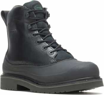 HYTEST 13860 Men's, Black, Steel Toe, EH, WP, Insulated, 6 inch Boot