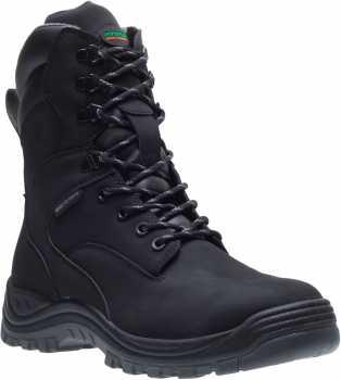 HYTEST 14780 Knox, Unisex, Black, Steel Toe, EH, Waterproof, 8 Inch Boot
