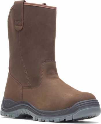 HYTEST 15781 Unisex, Brown, Steel Toe, EH, Waterproof, Wellington