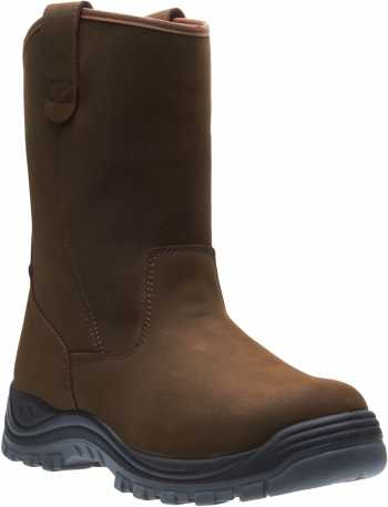HYTEST 15781 Unisex, Brown, Steel Toe, EH, Waterproof, Wellington