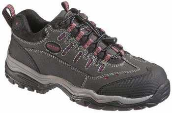 HYTEST 17050 Women's, Charcoal, Comp Toe, SD, Low Athletic