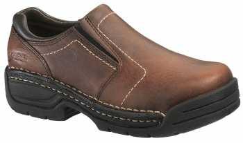 HYTEST 17141 Women's, Brown, Steel Toe, EH, Twin Gore Slip On