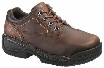 HYTEST 17151 Women's Brown, Steel Toe, EH, Opanka Oxford