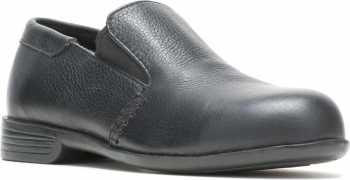 HYTEST 17170 Black Static Dissipating, Steel Toe, Women's Double Gore Slip On Dress Shoe