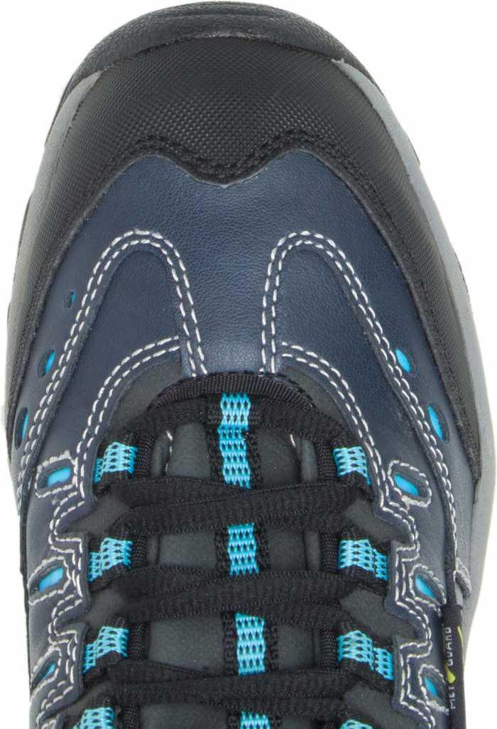 HYTEST 17202 Navy Electrical Hazard, Steel Toe, Poron XRD Internal Met Guard, Women's Athletic