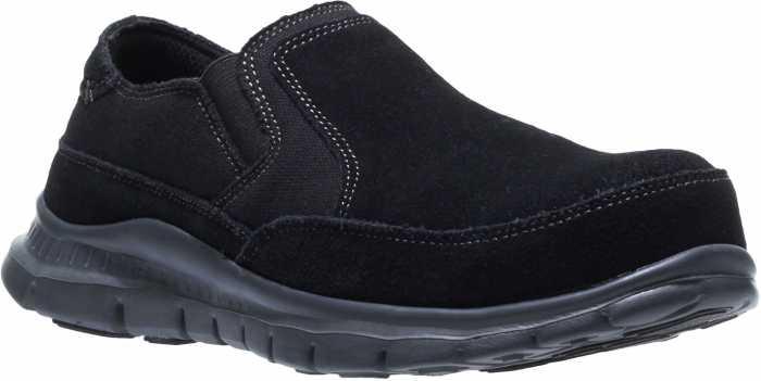 HYTEST 17300 Women's Black, Steel Toe, EH, Twin Gore Slip On