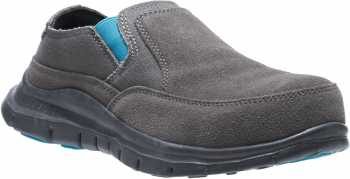 HYTEST 17302 Women's Grey, Steel Toe, EH, Casual Slip On
