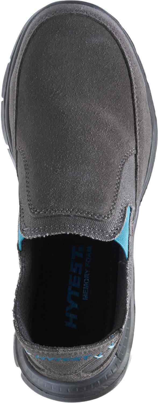 HYTEST 17302 Women's Grey, Steel Toe, EH, Casual Slip On