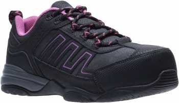 HYTEST 17320 Women's Black, Comp Toe, SD, Low Athletic