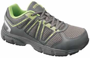 HYTEST 17392 Women's Grey/Green, Steel Toe, EH, Athletic
