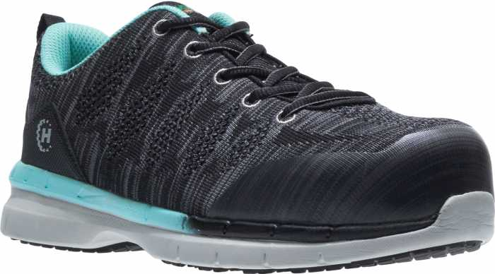 HYTEST 17650 HY-Ground HY-Light Women's, Black/Blue, Nano Toe, SD, Low Athletic