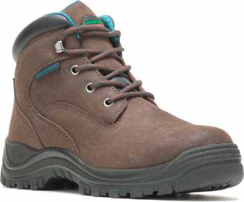 HYTEST 17751 Amber, Women's, Brown, Steel Toe, EH, WP, 6 Inch Boot