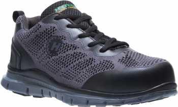 HyTest 17812 Women's Black, Steel Toe, Runner