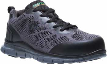 HyTest 17812 Women's Black, Steel Toe, Runner