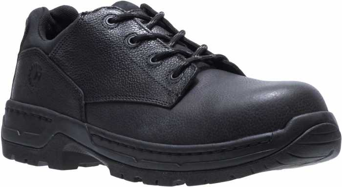 HYTEST 20030 Footrests, Men's, Black, Nano Toe, EH, Casual Oxford