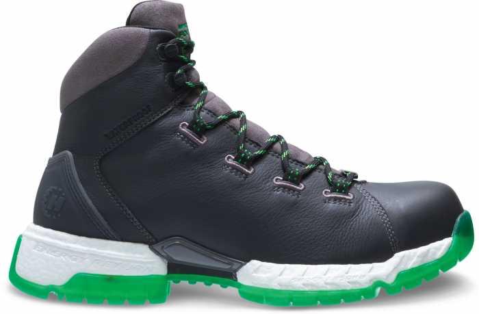 HYTEST FootRests 2.0 22472 XERGY, Men's Grey/Green, Nano Toe, EH, WP Hiker