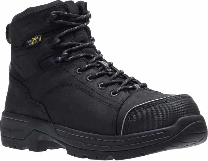 HYTEST 23110 Men's Black, Nano Safety Toe, EH, Internal Met, 6 Inch Boot