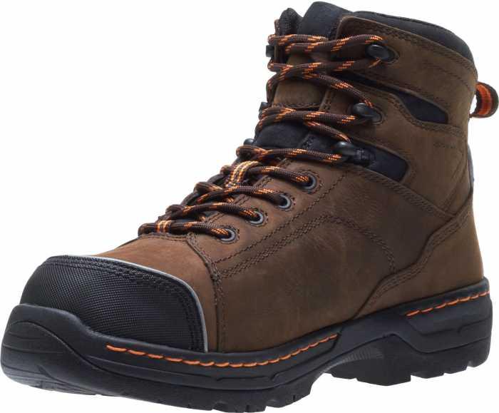 HYTEST 23111 Men's Brown, Nano Safety Toe, EH, Internal Met, 6 Inch Boot