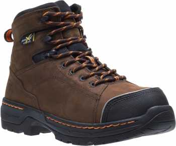 HYTEST 23111 Men's Brown, Nano Safety Toe, EH, Internal Met, 6 Inch Boot
