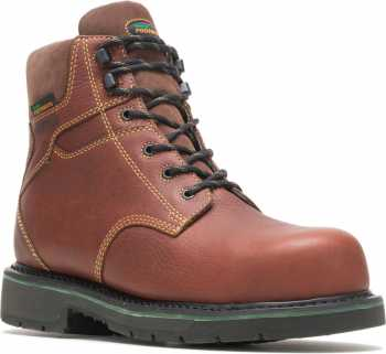 HYTEST FootRests 23181 Brown Electrical Hazard, Composite Toe, Waterproof, Men's 6 Inch Work Boot