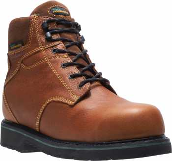 HYTEST FootRests 23181 Brown Electrical Hazard, Composite Toe, Waterproof, Men's 6 Inch Work Boot